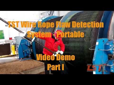 TST Rope Flaw Detection