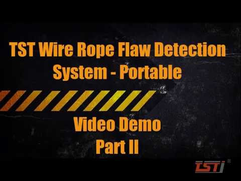 TST Wire Rope Flaw Detection